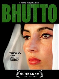 """Bhutto"" film poster"